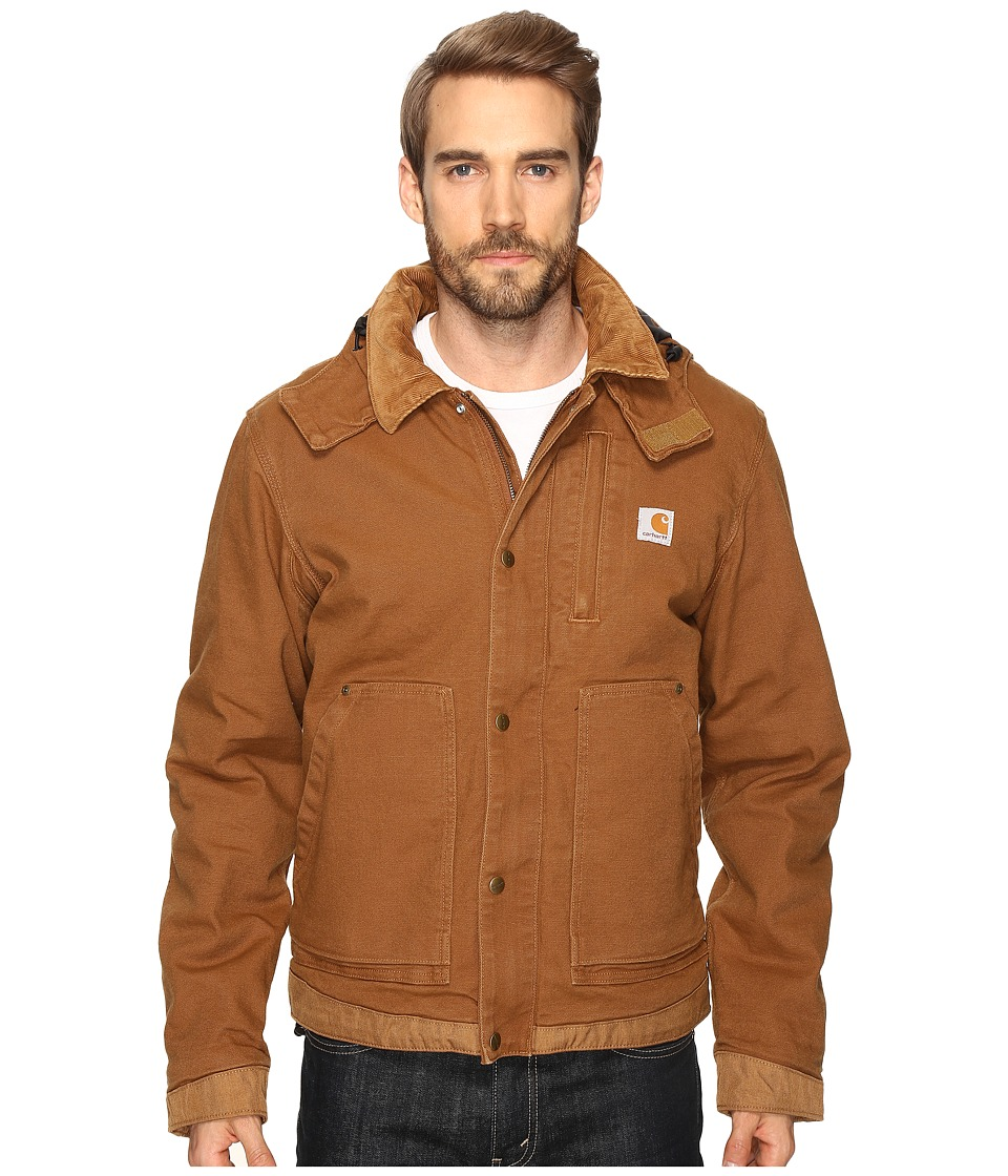 caldwell men 7999 carhartt men's full swing caldwell jacket-irregular - 102358irr - it's made of stretch cotton sandstone duck that gives you plenty of room to move, with stretch panels on the back and the elbows.