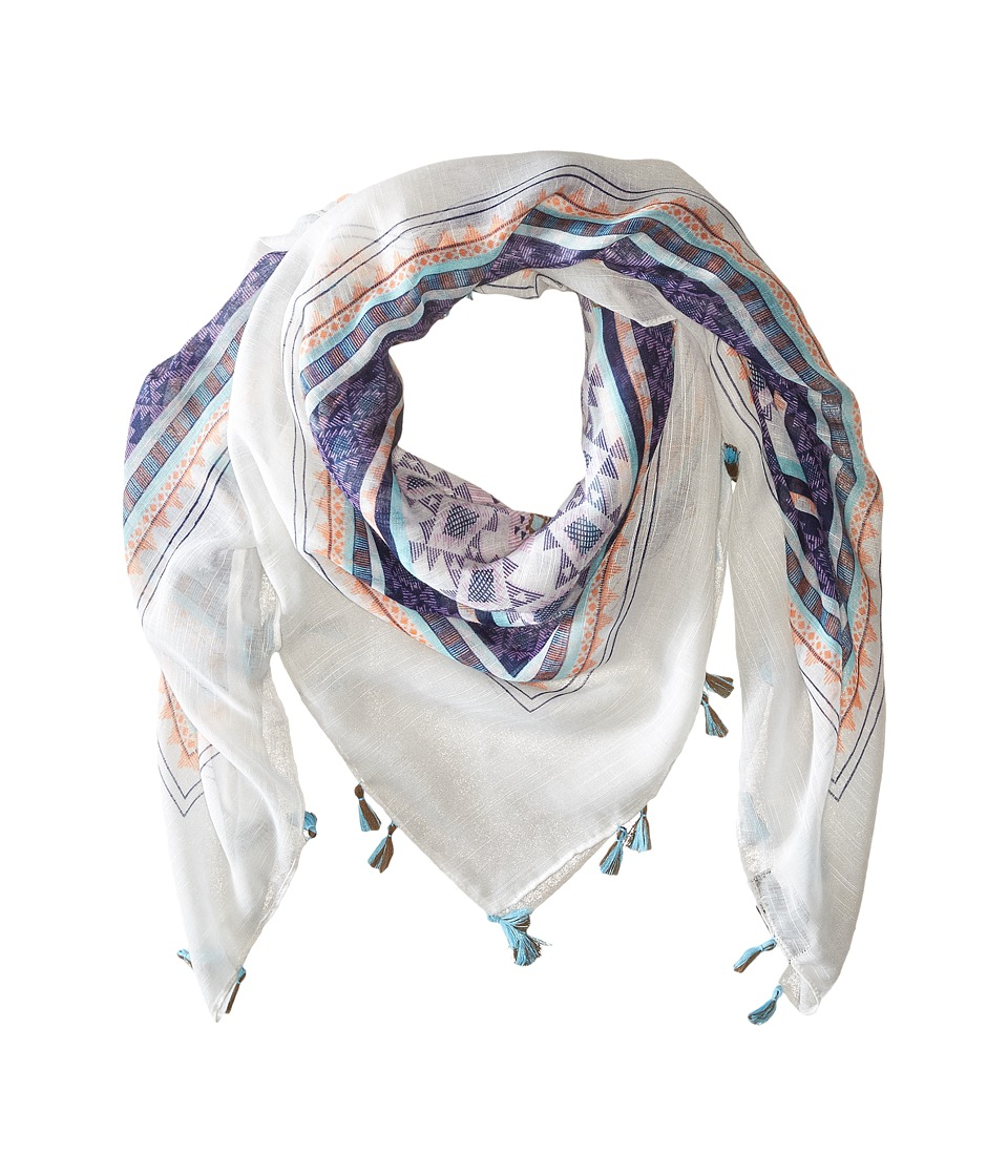 Steve Madden - Electric Rave Motif Day Wrap (Multi) Scarves