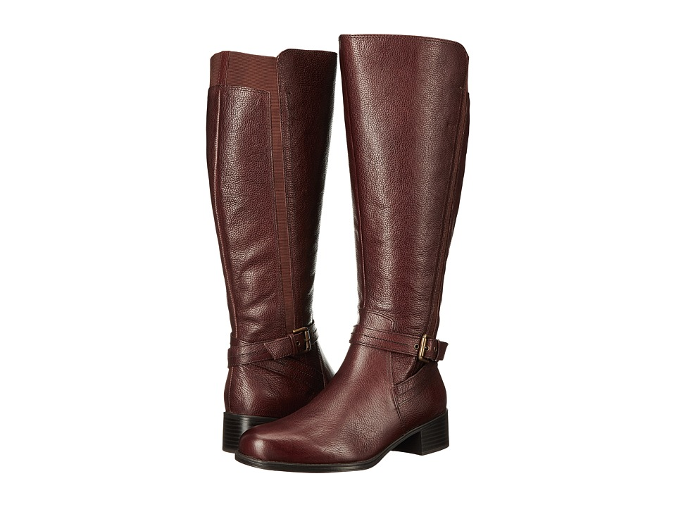 Naturalizer Wynnie Wide Calf (Bridal Brown Leather) Women