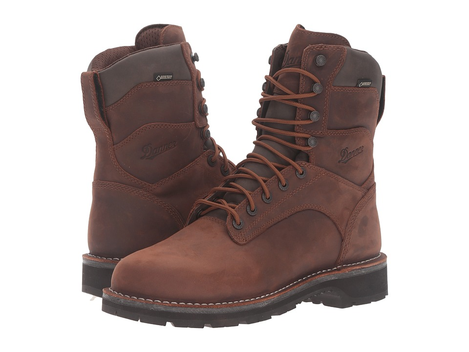Danner - Workman 8 (Brown) Men's Work Boots