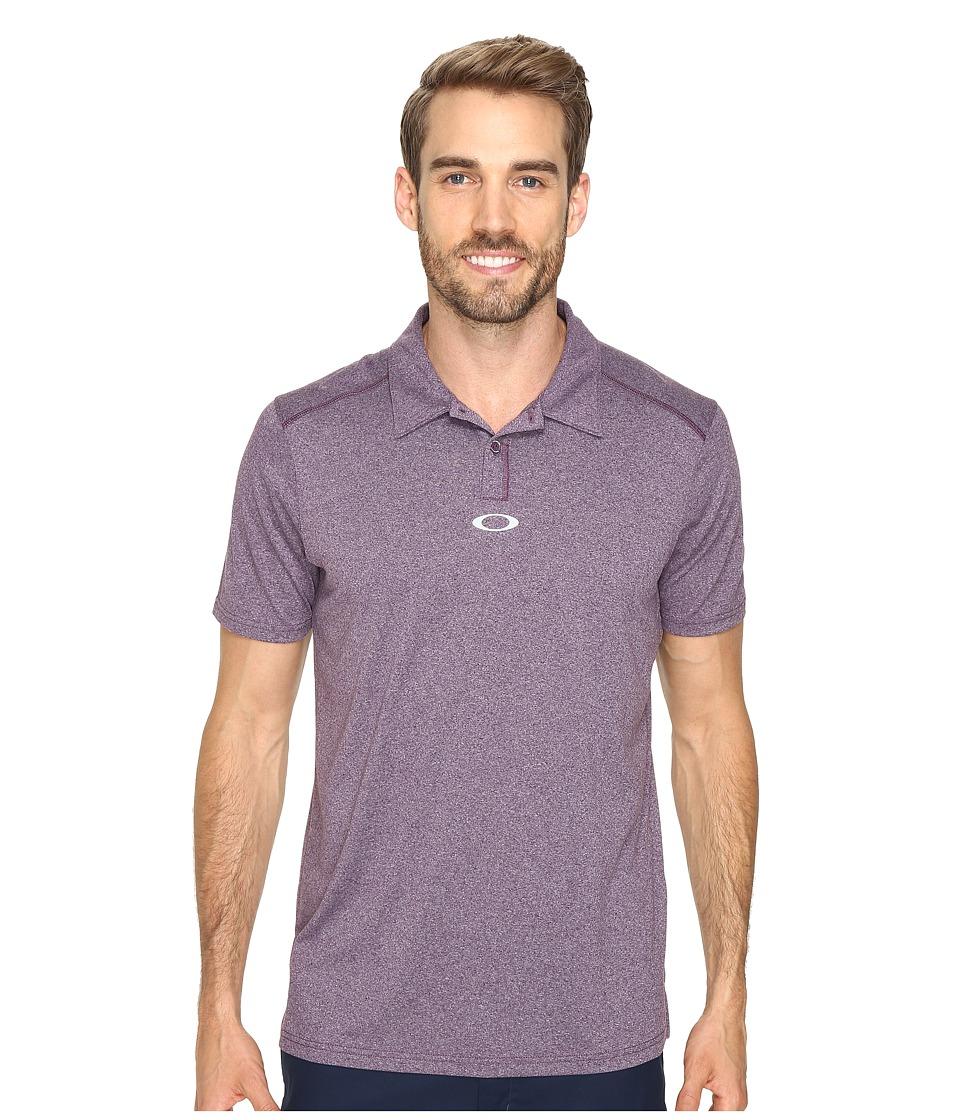 Oakley - Roman Polo (Deep Plum) Men's Short Sleeve Pullover