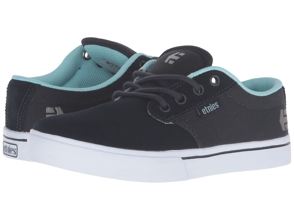 etnies Kids - Jameson 2 Eco (Toddler/Little Kid/Big Kid) (Navy/Blue/White Synthetic/Canvas) Kids Shoes