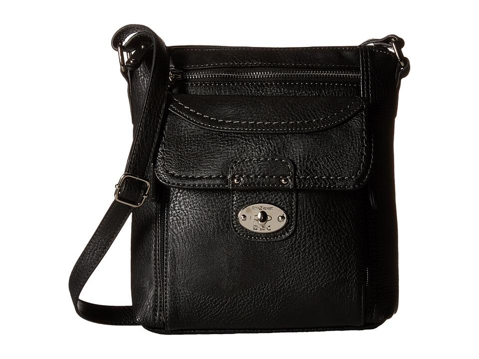 b.o.c. - Waltham Organizer Crossbody (Black) Cross Body Handbags
