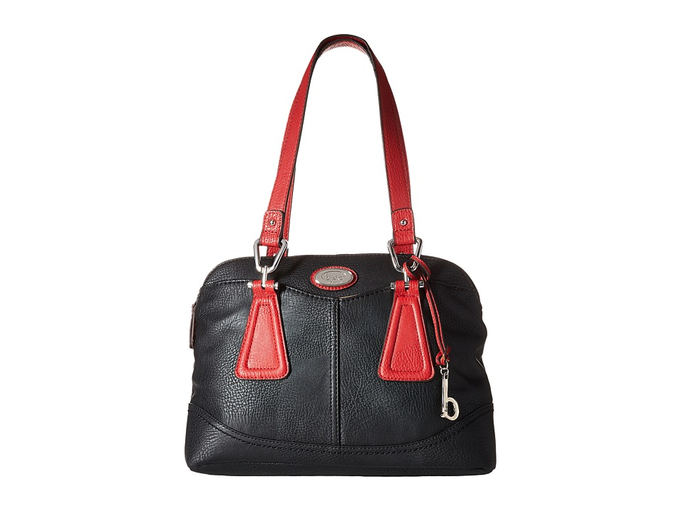 b.o.c. - Englenton Satchel (Black/Red) Satchel Handbags