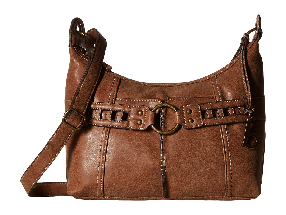 b.o.c. - Graniteville Crossbody (Mocha) Cross Body Handbags