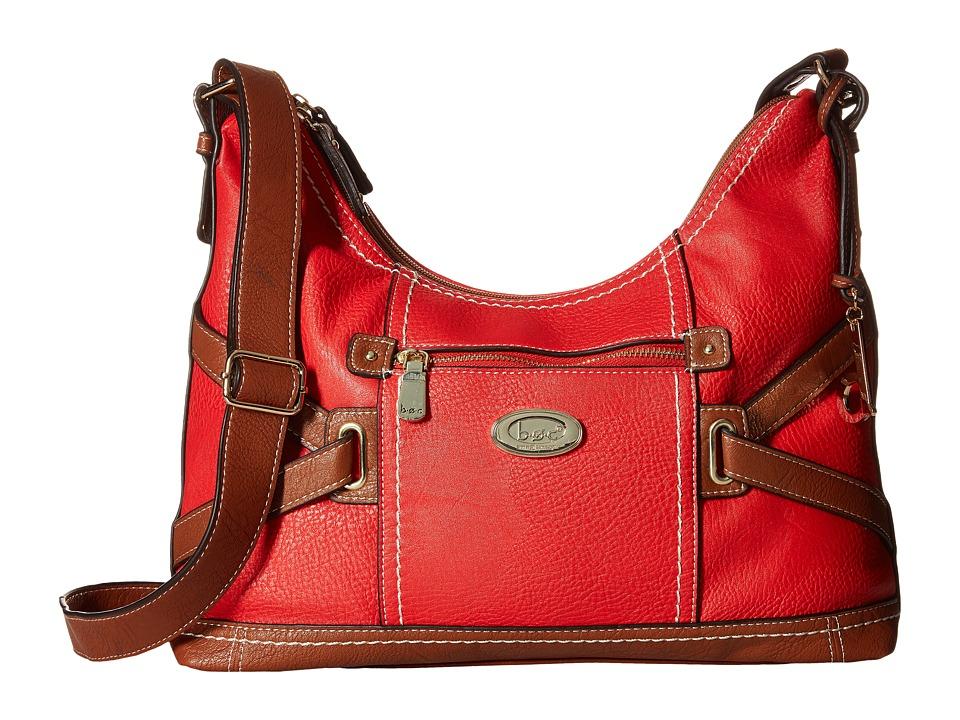 b.o.c. - Parkslope Crossbody (Red) Cross Body Handbags