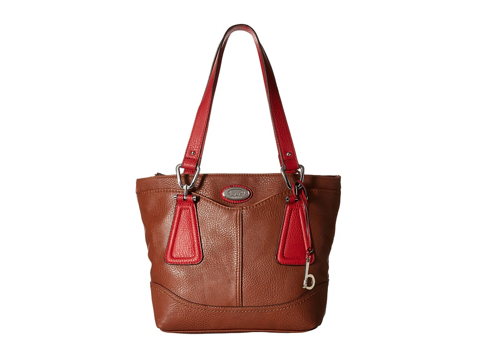 b.o.c. - Englenton Tote (Walnut/Red) Tote Handbags