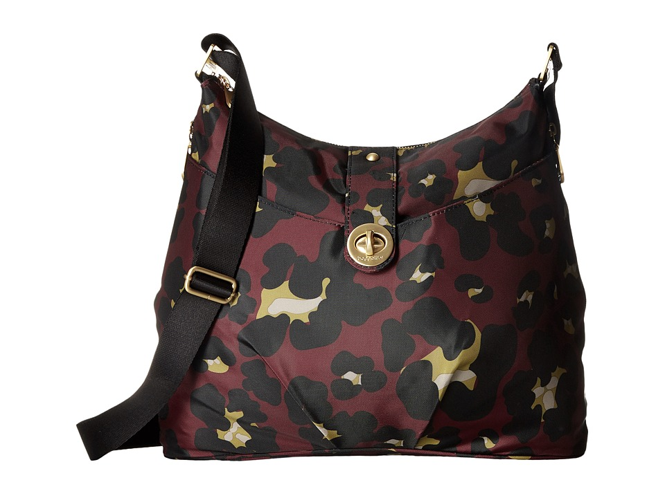 Baggallini - Gold Helsinki Bag (Scarlet Cheetah) Handbags