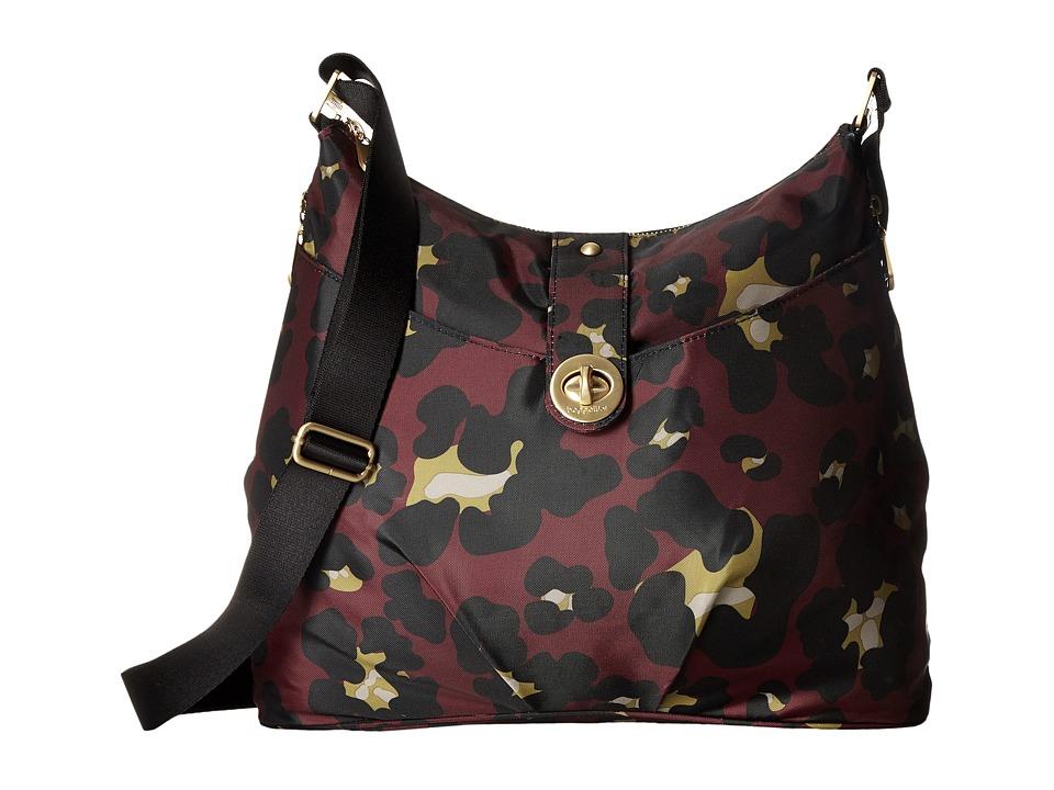 Baggallini - Gold Helsinki Bag (Scarlet Cheetah) Handbags