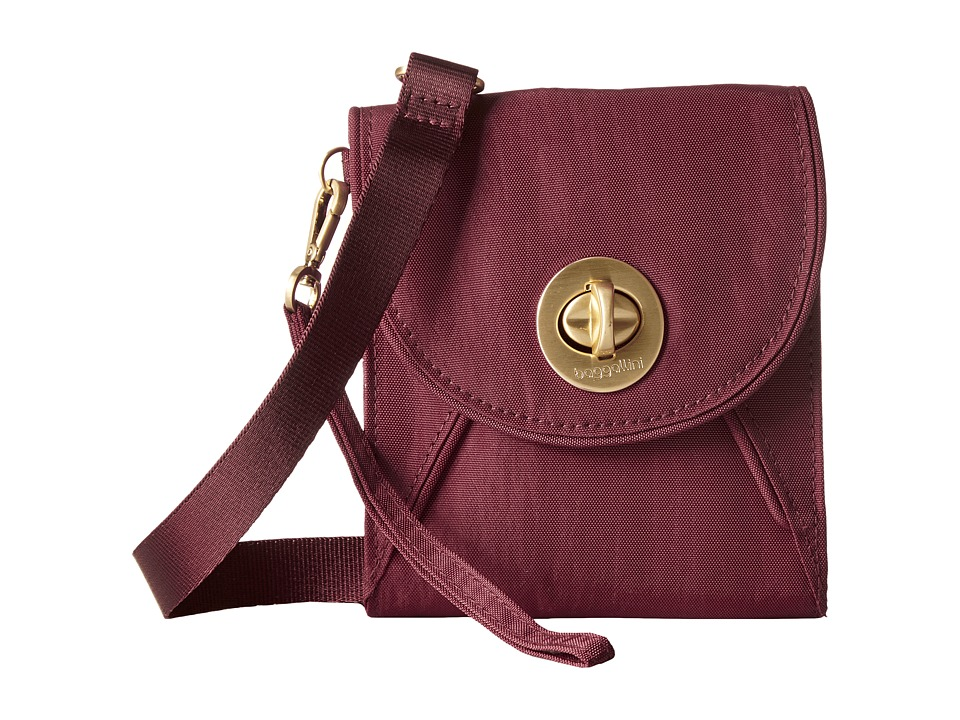 Baggallini - Gold Athens RFID Crossbody Wallet (Scarlet) Cross Body Handbags