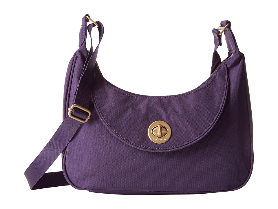 Baggallini - Gold Oslo Small Hobo (Grape) Hobo Handbags