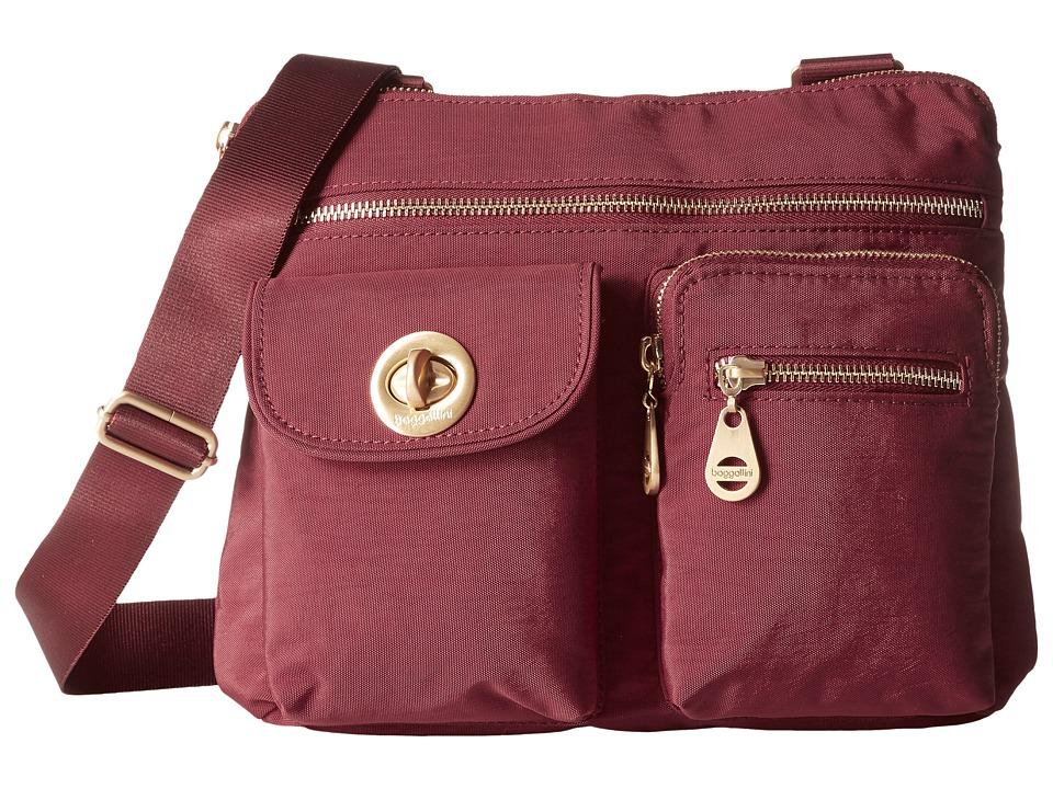 Baggallini - Gold Sydney (Scarlet) Handbags