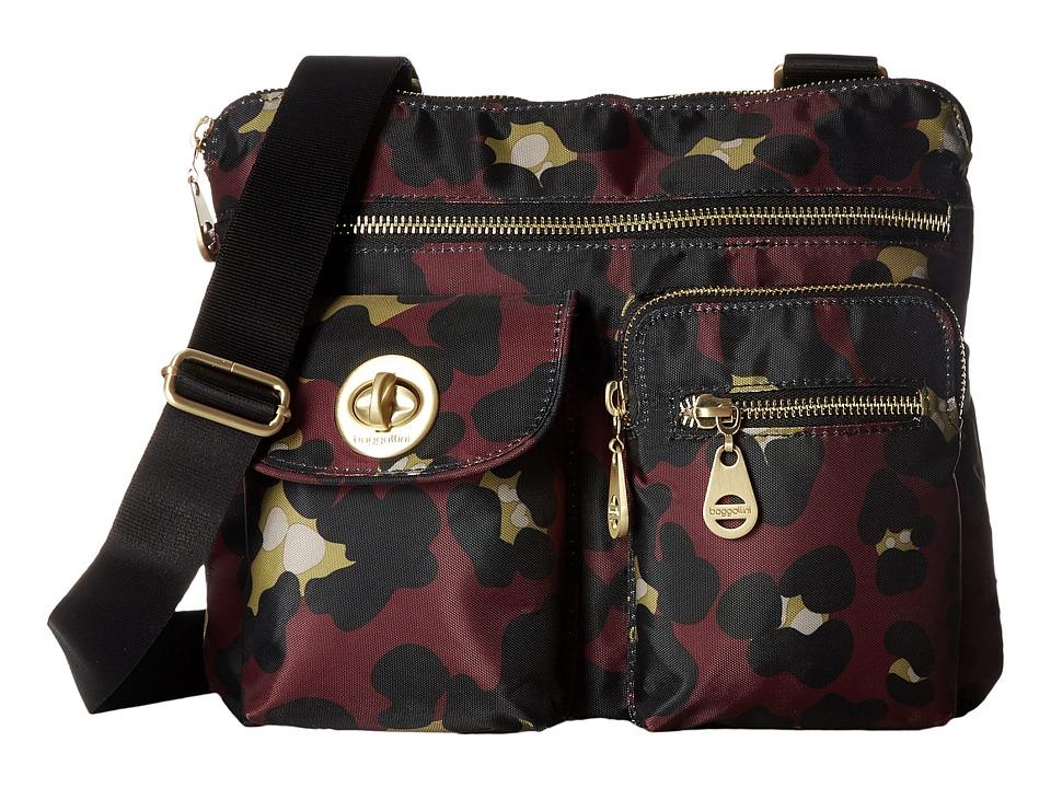Baggallini - Gold Sydney (Scarlet Cheetah) Handbags