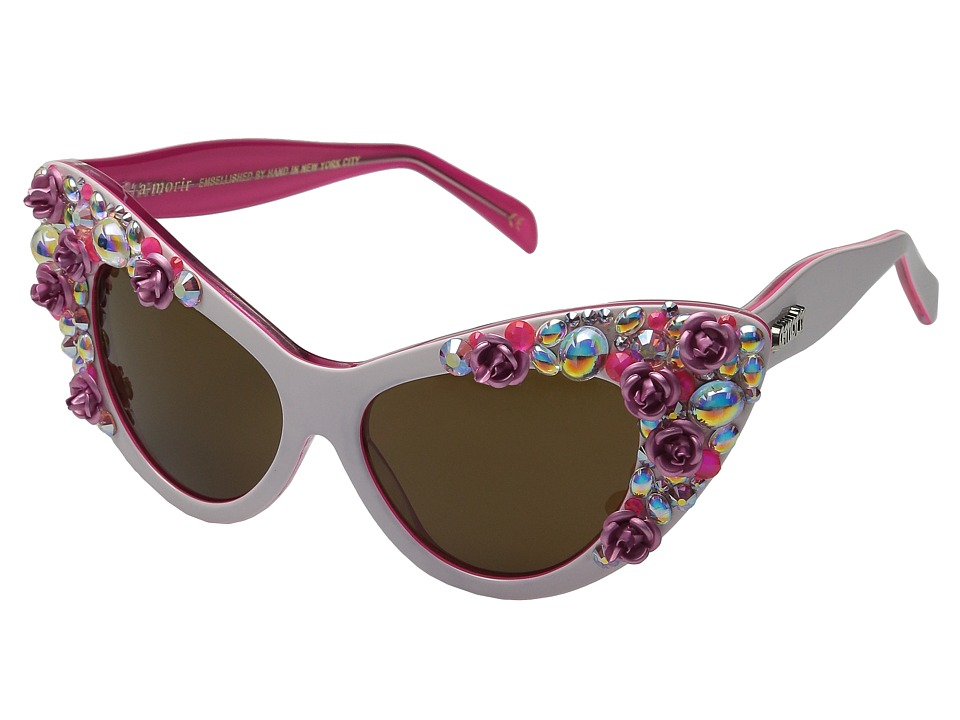 A-Morir - Jayne (White Rose) Fashion Sunglasses