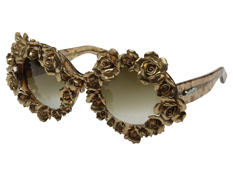 A-Morir - Naomi (Gold) Fashion Sunglasses
