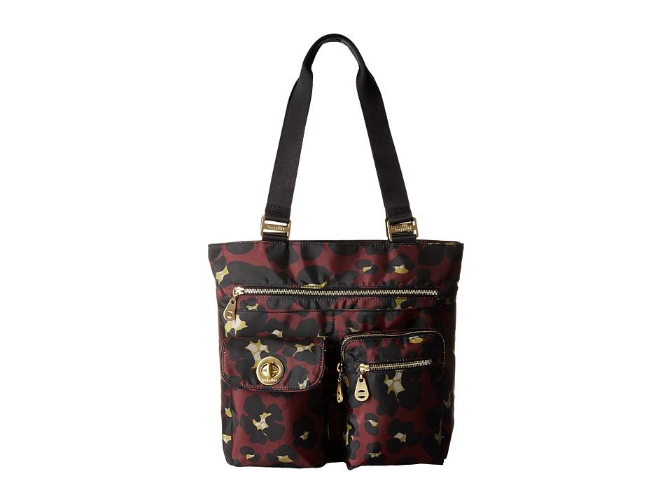 Baggallini - Tulum Tote (Scarlet Cheetah) Tote Handbags