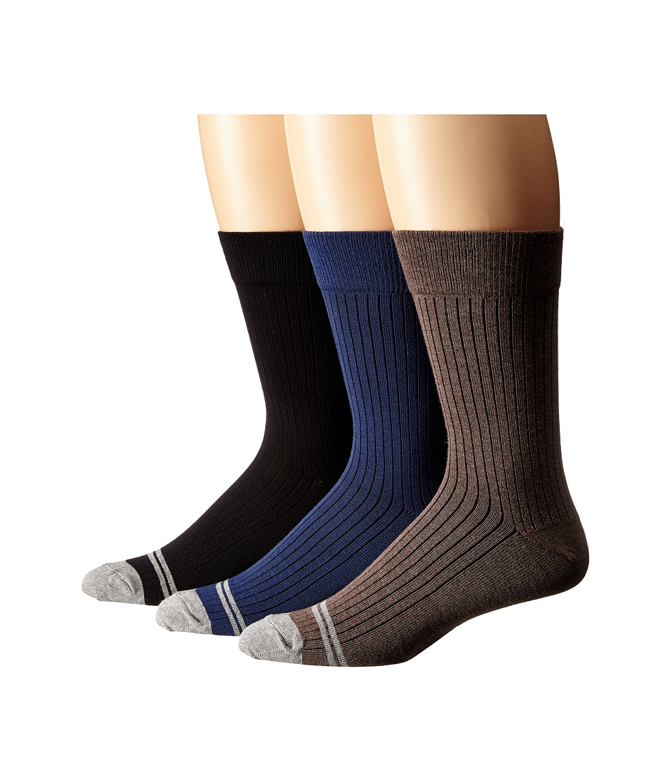 PACT - Everyday Crew Socks 6-Pack (Multi) Men's Crew Cut Socks Shoes