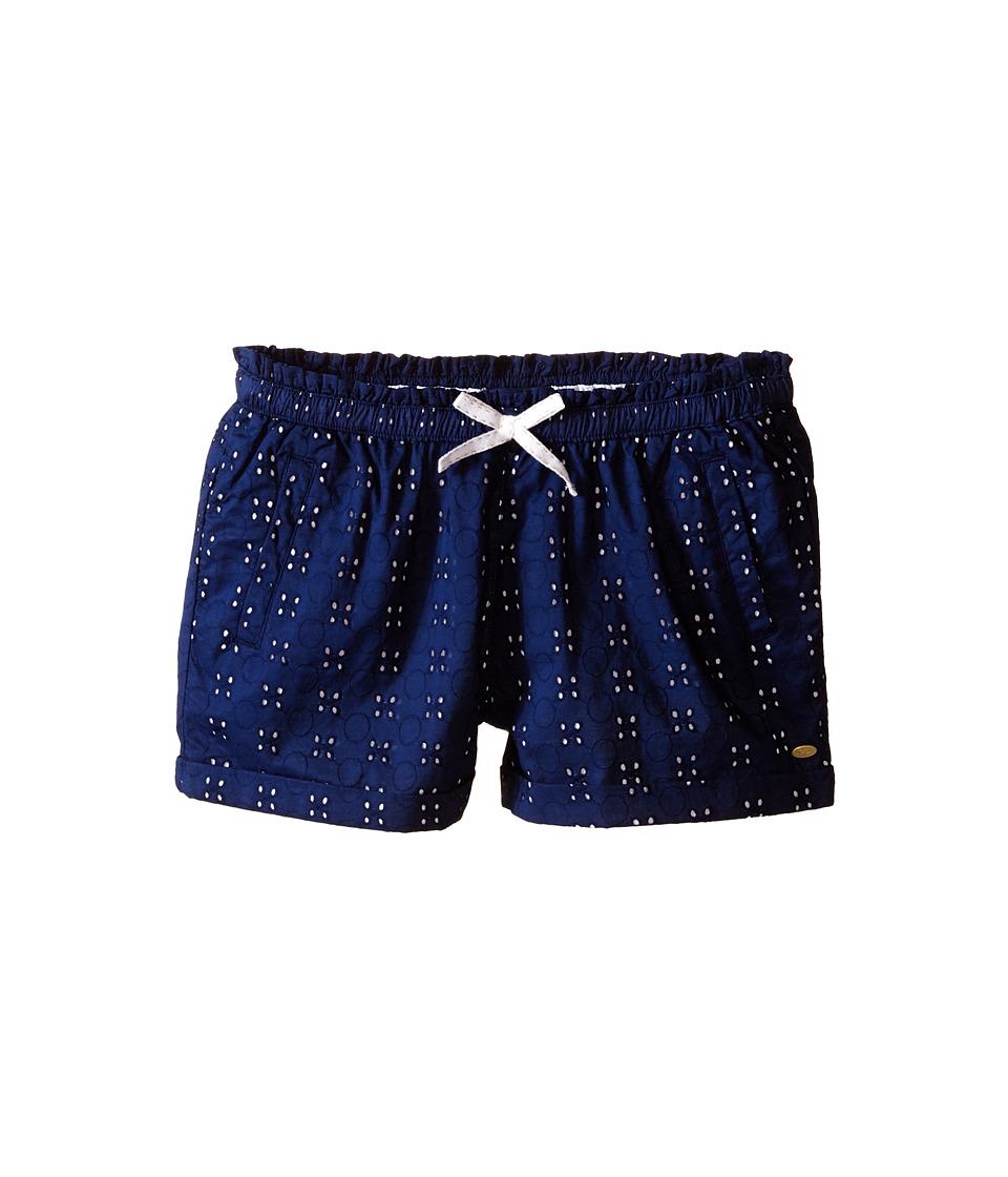 Tommy Hilfiger Kids - Pull-On Eyelet Shorts (Little Kids/Big Kids) (Flag Blue) Girl's Shorts