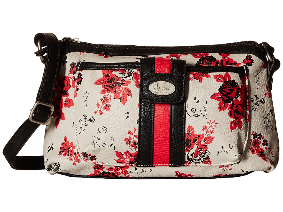 b.o.c. - Doral Crossbody (Red/Black) Cross Body Handbags