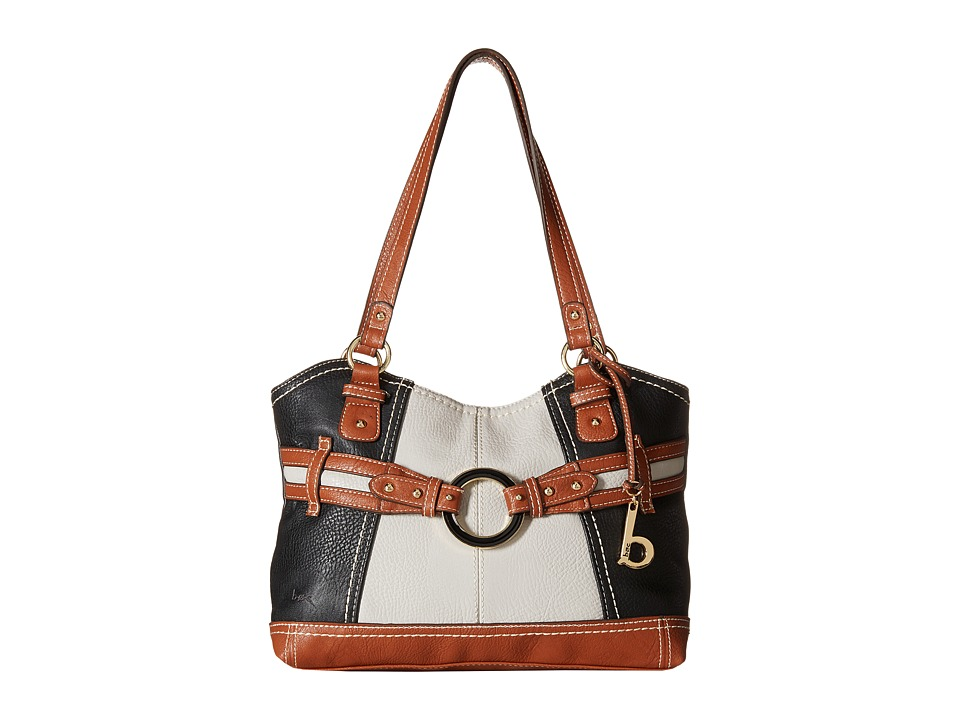 b.o.c. - Doral Large Tote (Black/Grey) Tote Handbags