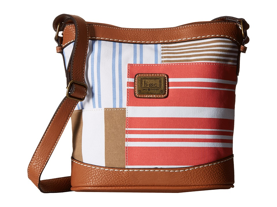 b.o.c. - Sanibel Crossbody (Coral) Cross Body Handbags