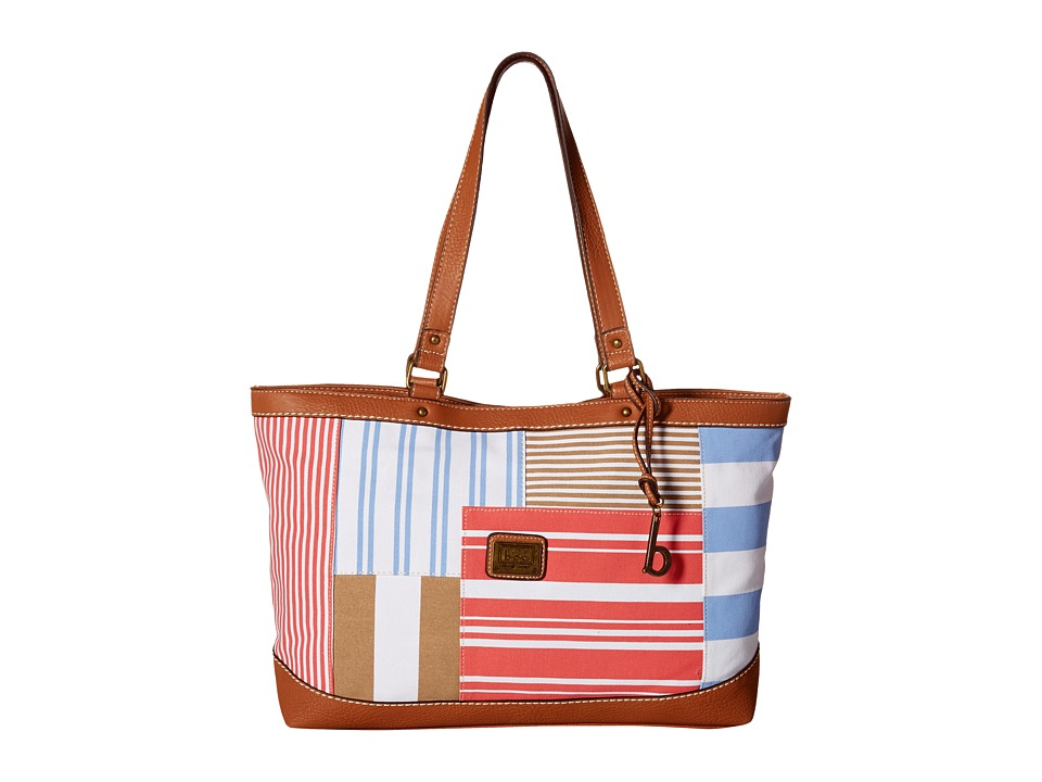 b.o.c. - Sanibel Large Tote (Coral) Tote Handbags
