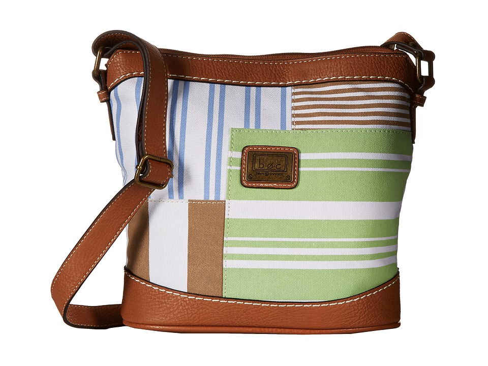 b.o.c. - Sanibel Crossbody (Mint) Cross Body Handbags