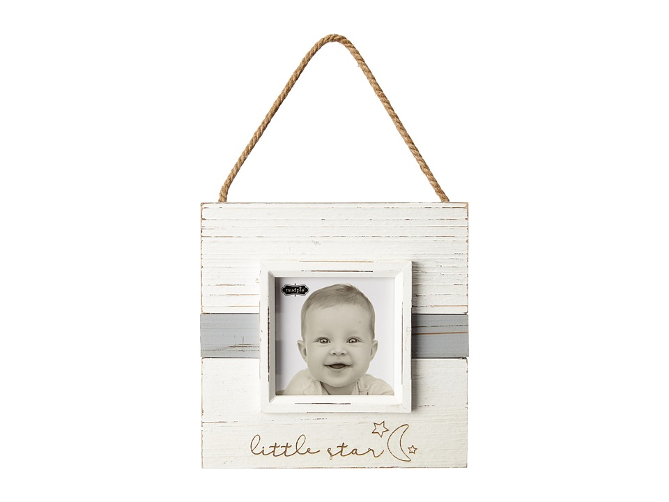 Mud Pie - Little Star Hanging Frame (White/Blue) Accessories Travel