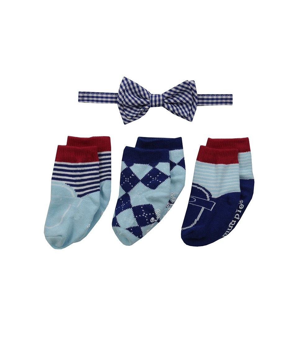 Mud Pie - Bow Tie and Sock Set (Infant) (Blue) Boys Shoes