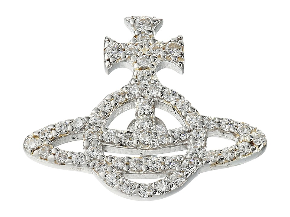 Vivienne Westwood - Calliope Clutch Pin (Crystal Cubic) Pendants Pins