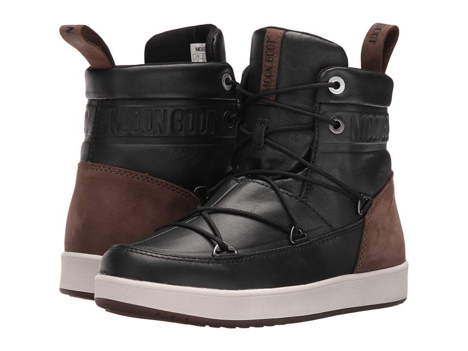 Tecnica - Moon Boot Neil Lux (Black/Brown) Cold Weather Boots