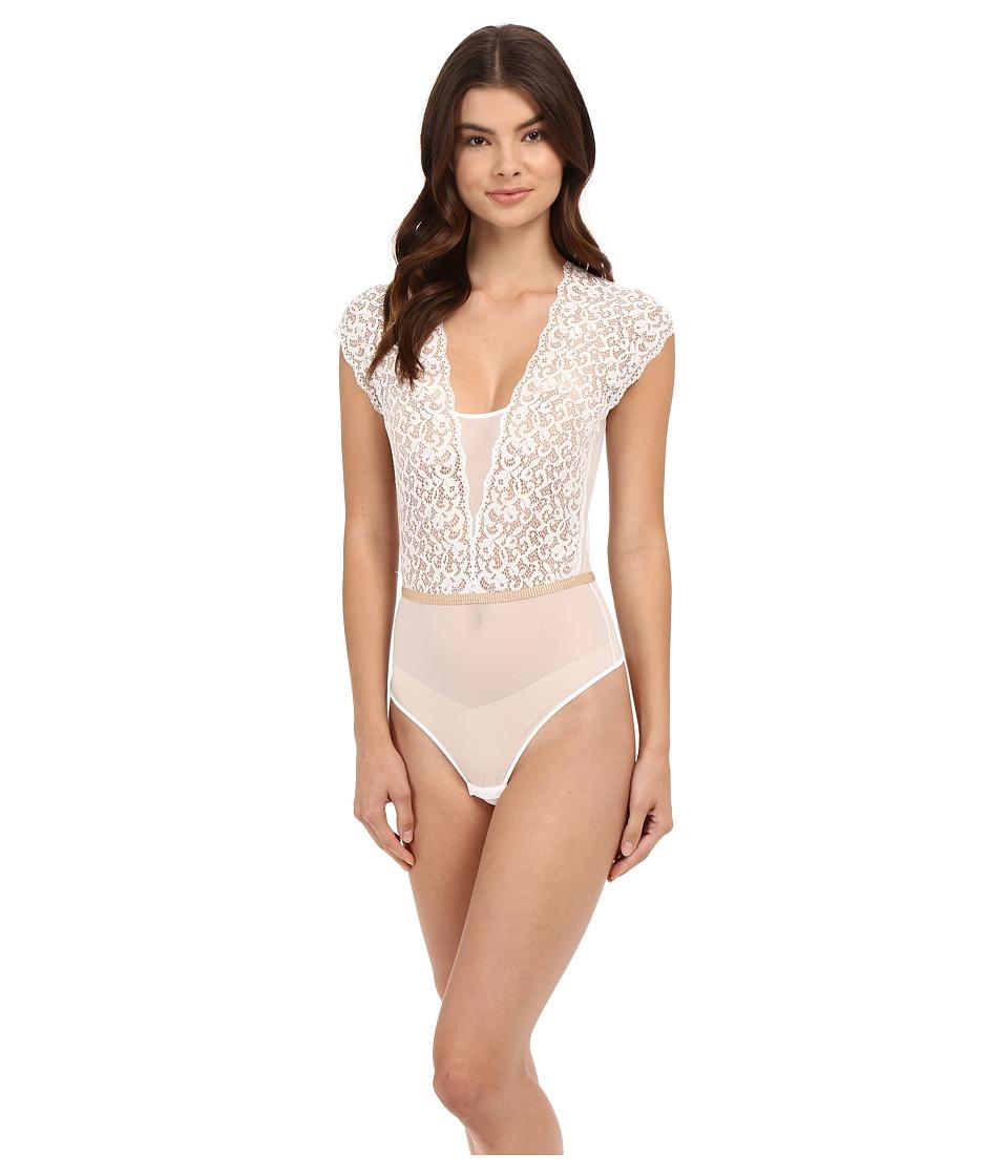 Cosabella - Brigitte Thong Teddy (Ivory/Nude) Women's Underwear