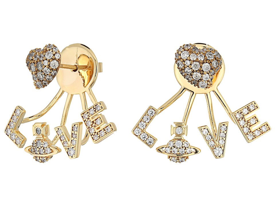 Vivienne Westwood - Agatha Earrings (Cubic Zirconia 1) Earring