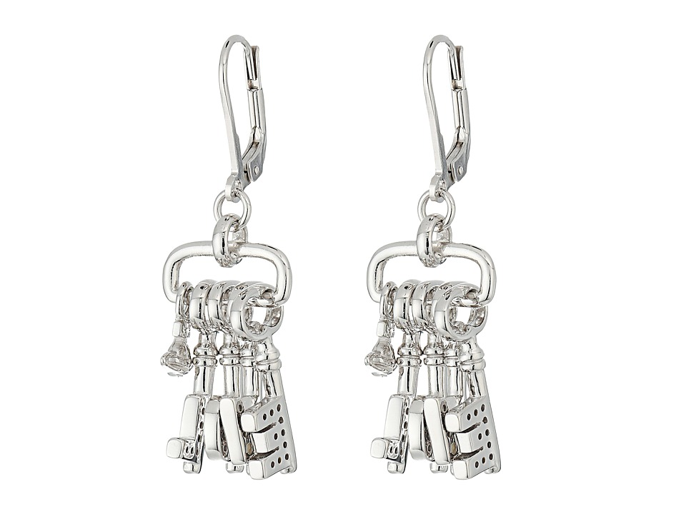 Vivienne Westwood - Lipari Charm Earrings (Sterling Silver) Earring