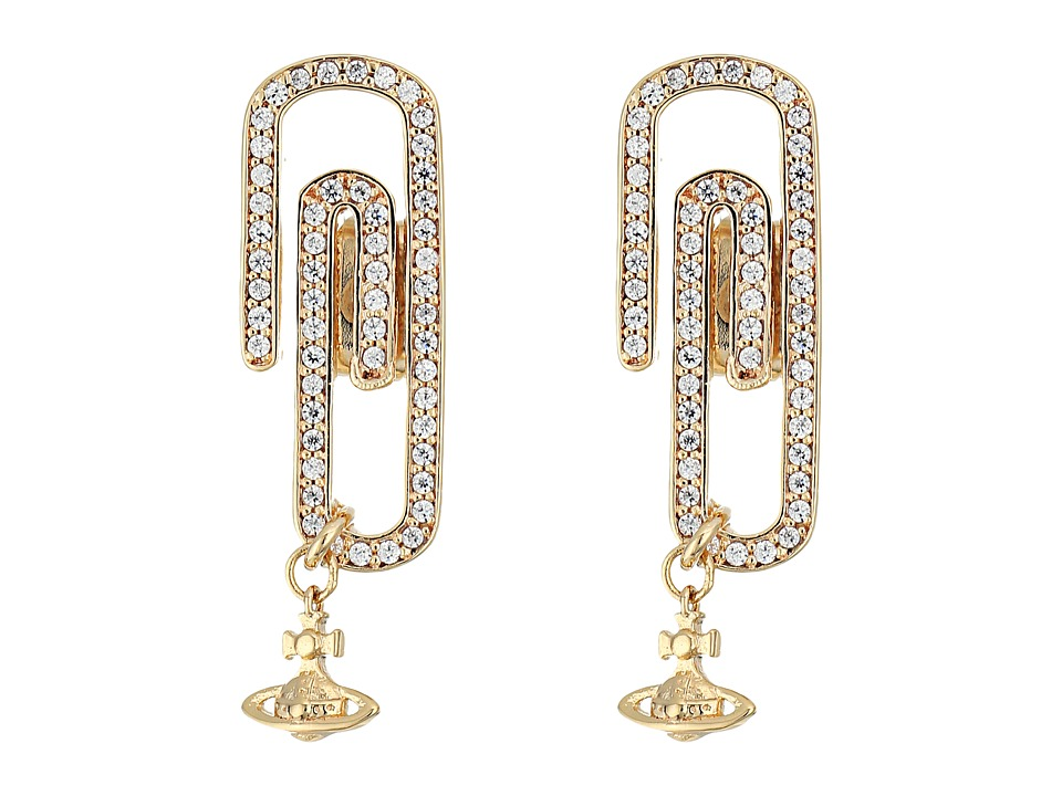 Vivienne Westwood - Doreen Small Earrings (Cubic Zirconia) Earring