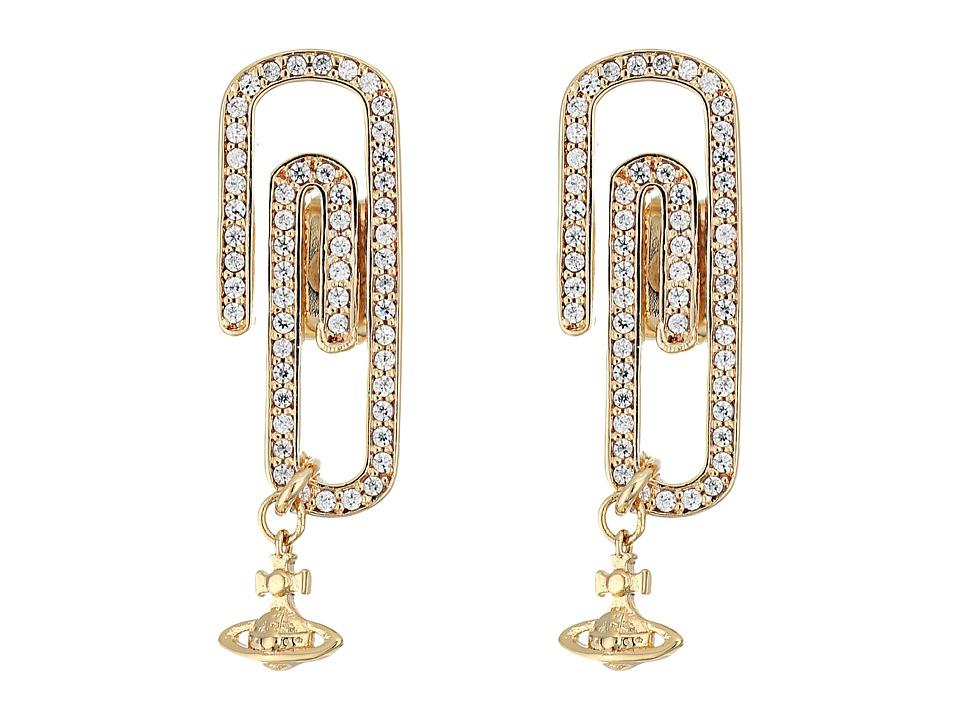 Vivienne Westwood - Doreen Small Earrings (Cubic Zirconia) Earring