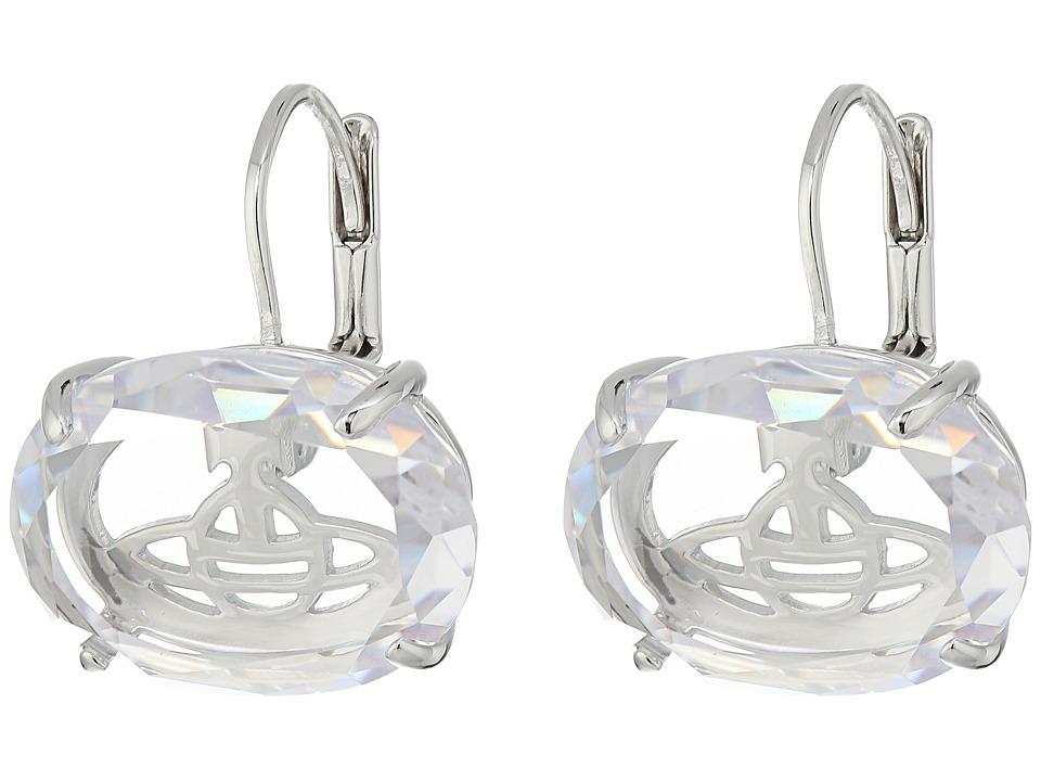 Vivienne Westwood - Roseta Earrings (White Cubic Zirconia) Earring
