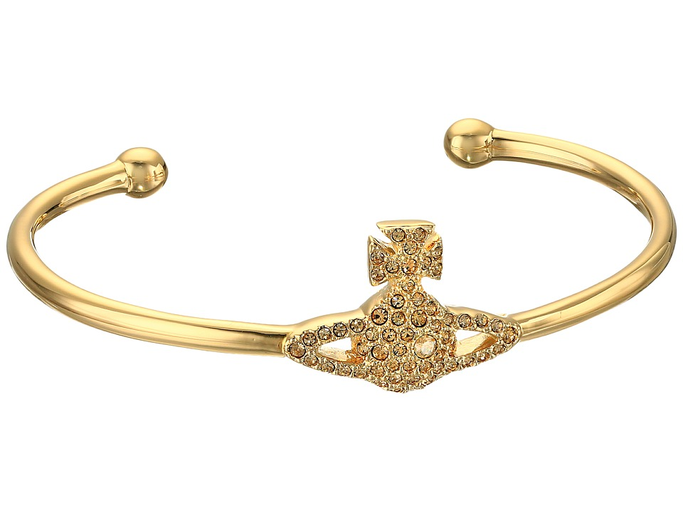 Vivienne Westwood - Grace Open Bangle (Light Colorado) Bracelet