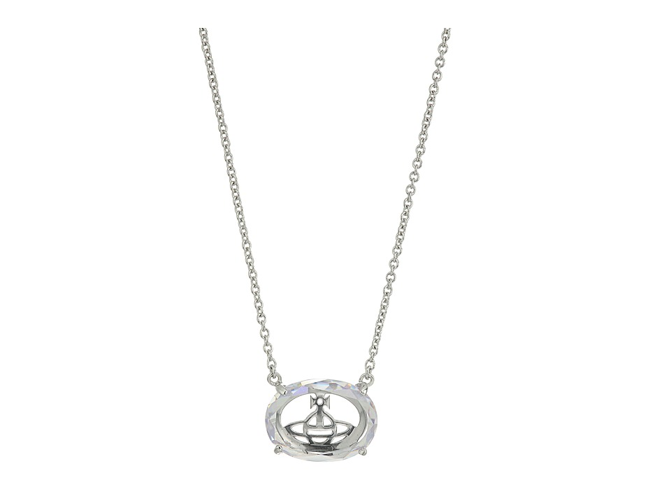 Vivienne Westwood - Roseta Pendant Necklace (White Cubic Zirconia) Necklace
