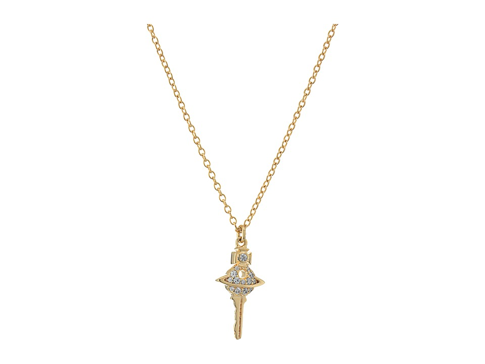 Vivienne Westwood - Darianne Small Pendant Necklace (Cubic Zirconia) Necklace