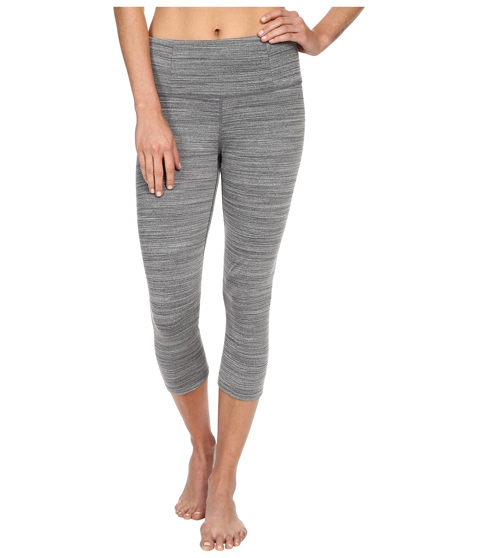 Manduka Essential Capris (Dark Heather Grey) Women