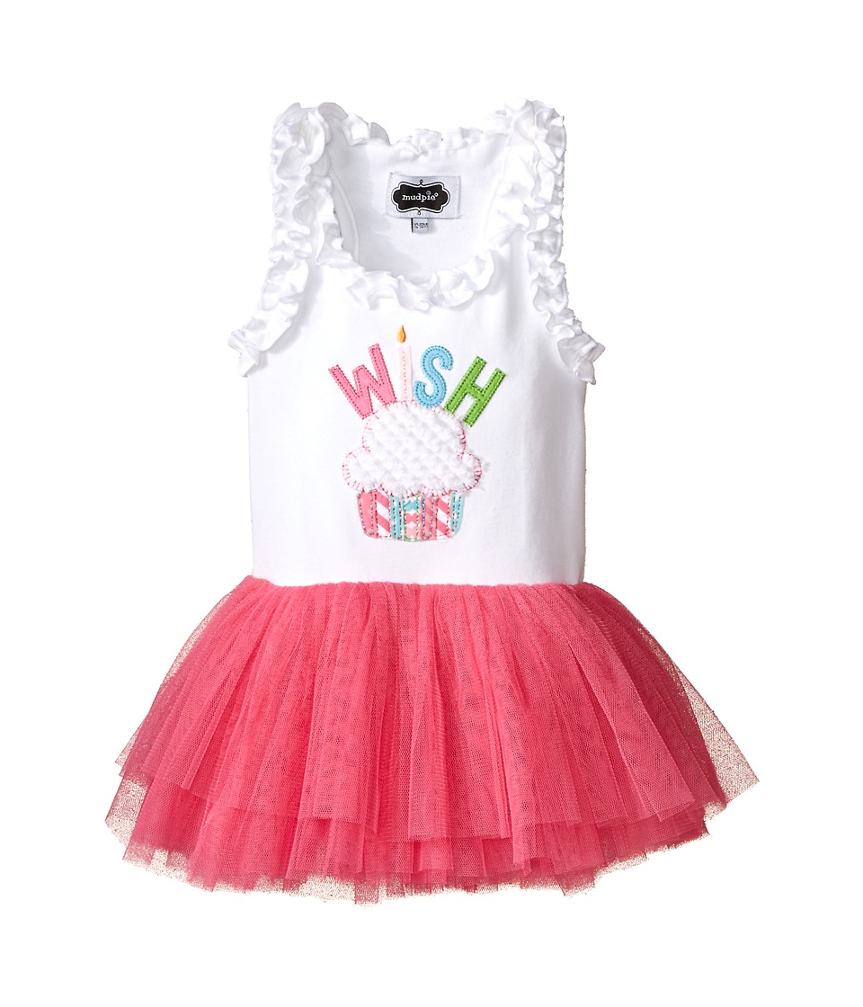Mud Pie - Wish Tutu Dress (Infant/Toddler) (Pink) Girl's Dress