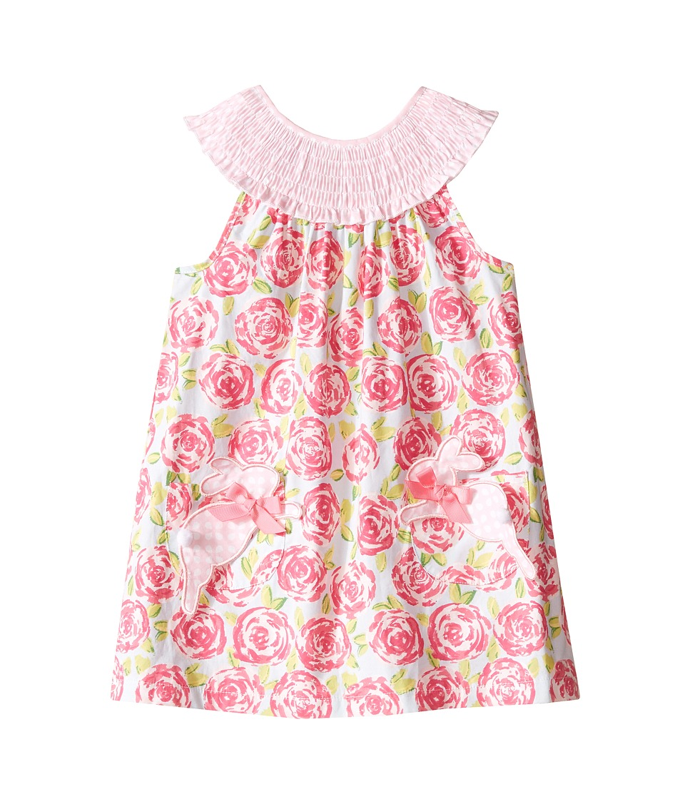Mud Pie - Bunny Dress (Toddler) (Pink) Girl's Dress