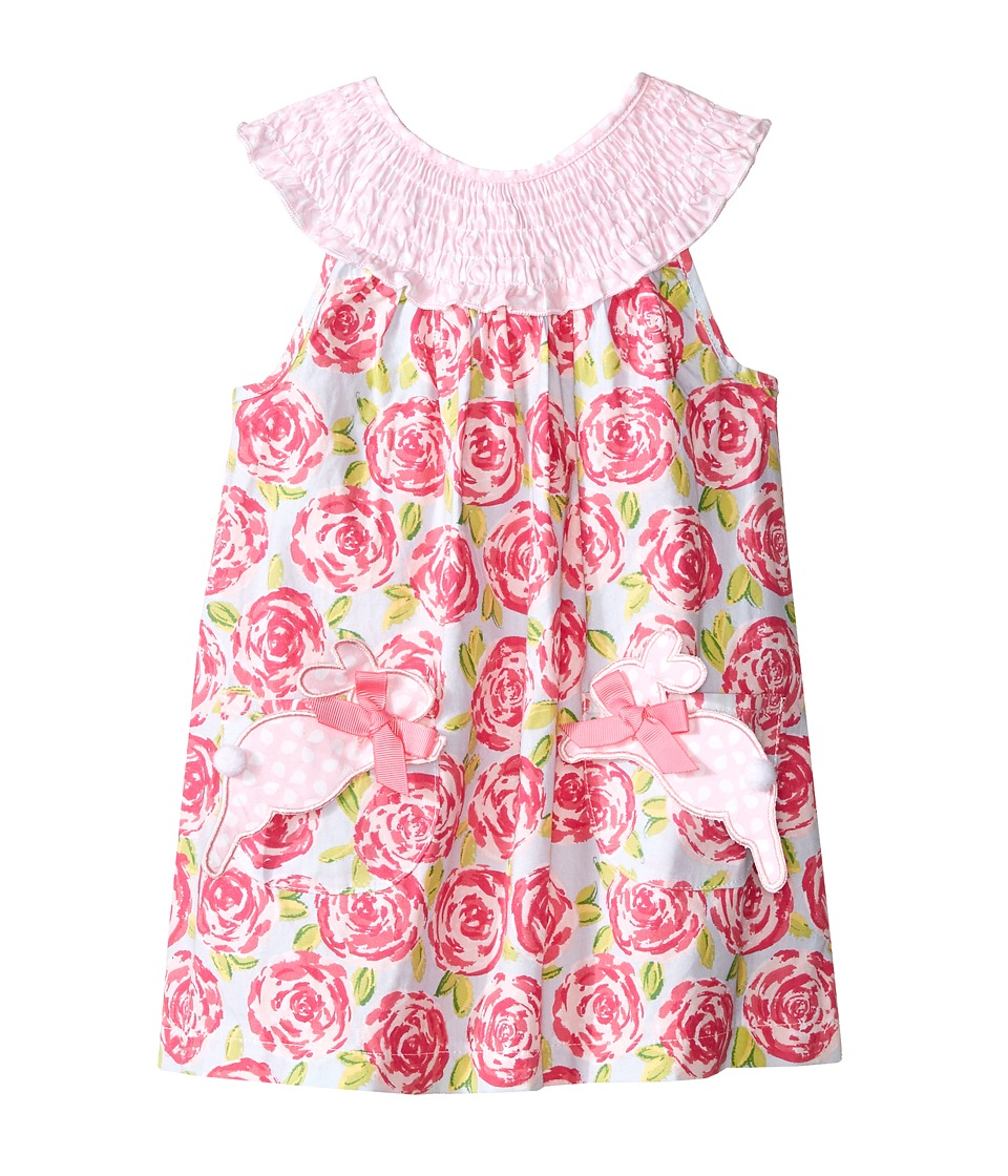 Mud Pie - Bunny Dress (Infant) (Pink) Girl's Dress