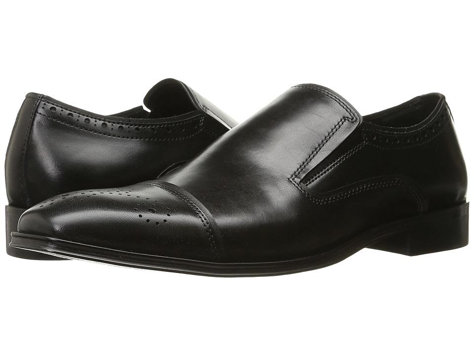 Steve Madden - Calipers (Black) Men's Slip on Shoes