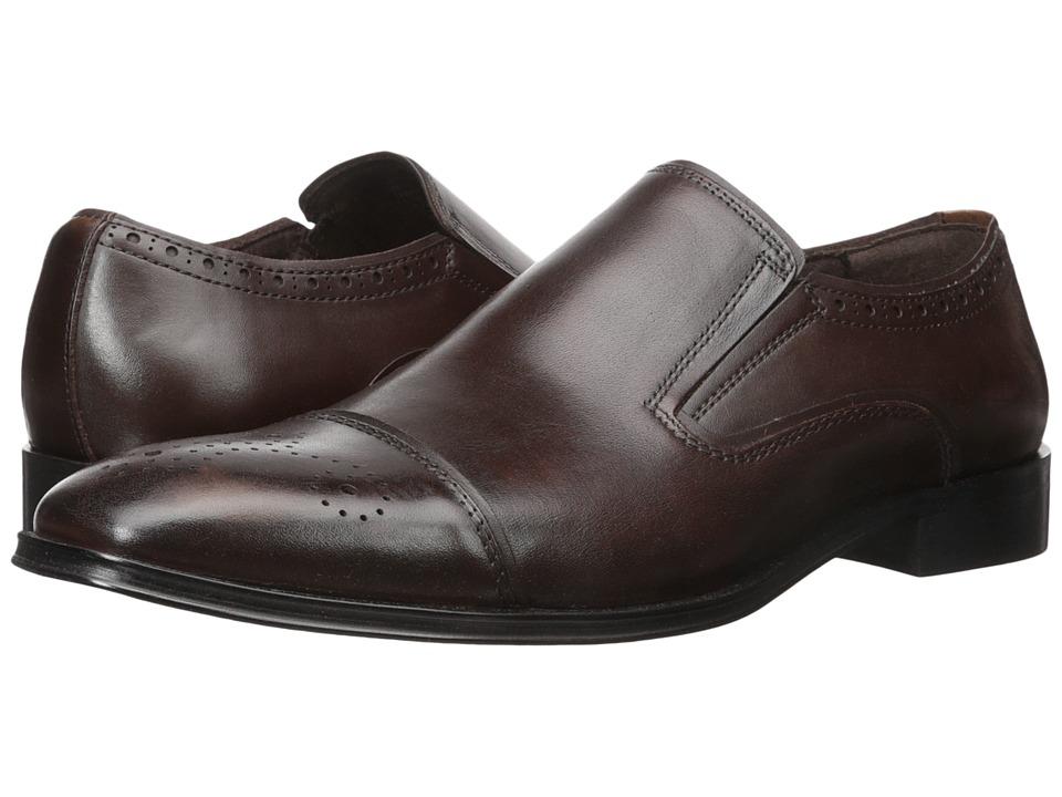 Steve Madden - Calipers (Brown) Men's Slip on Shoes