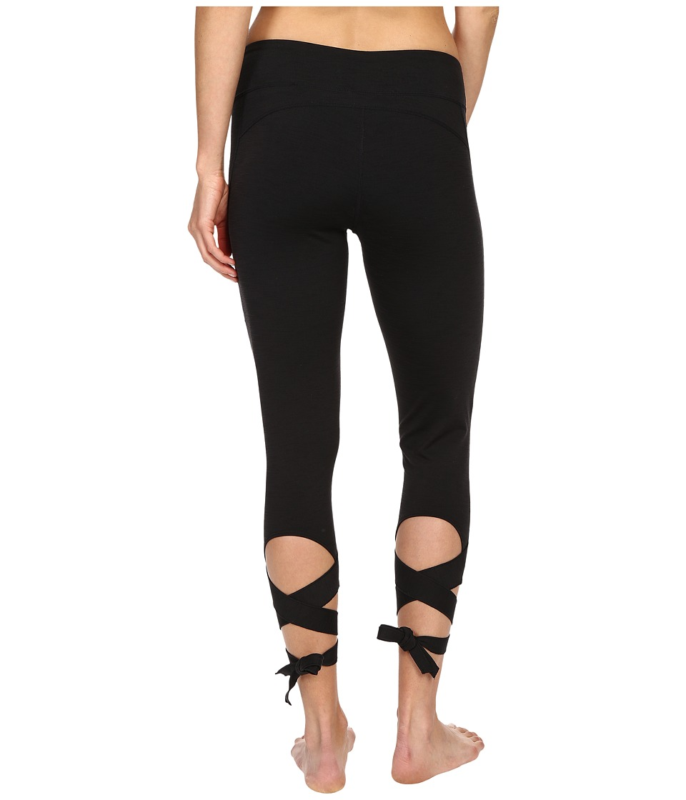 Manduka - Flux Leggings (Black) Women's Casual Pants