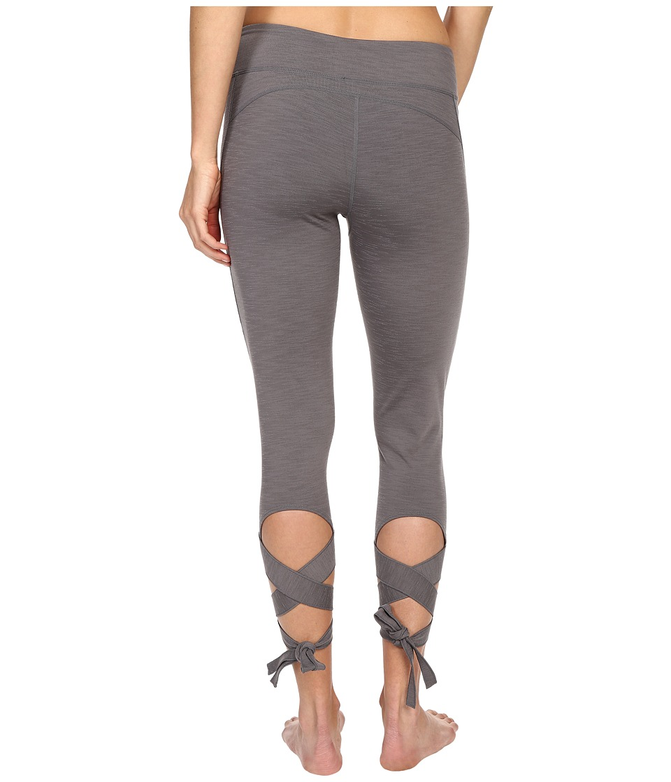 Manduka - Flux Leggings (Thunder) Women's Casual Pants