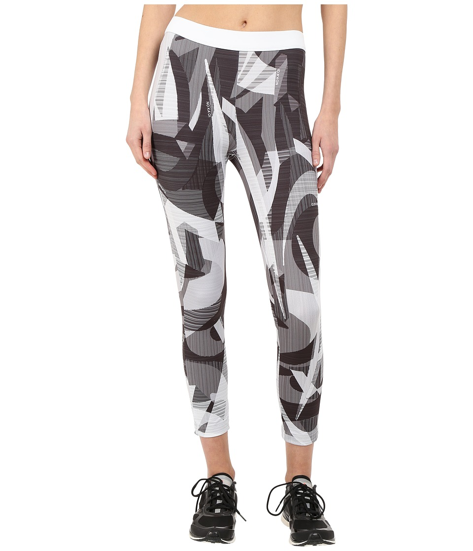 NO KA'OI - Print Paku Pants (White) Women's Casual Pants