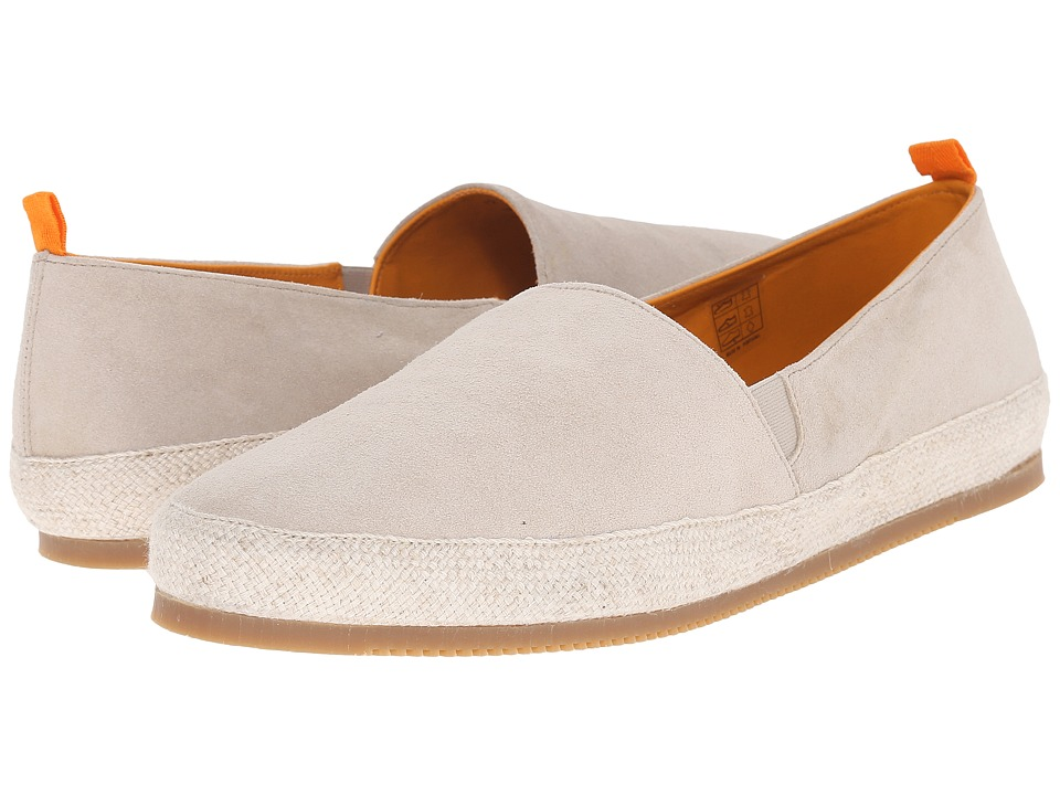 Mulo - Suede Espadrille (Natural) Men's Shoes